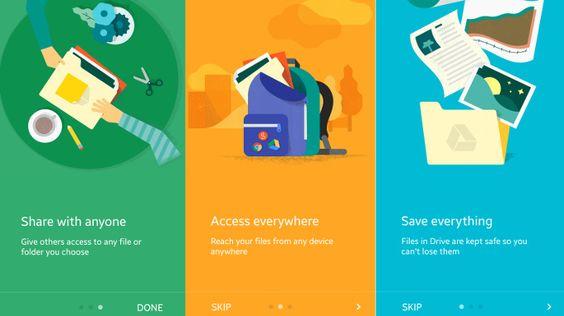 Google Drive hops onto the Material Design bandwagon