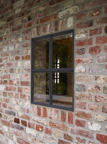 Little window in brick work