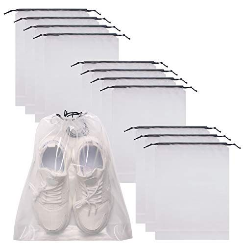 Slippers Easily Storage Shoe Bag Drawstring Oraganizer for Travel Accessories