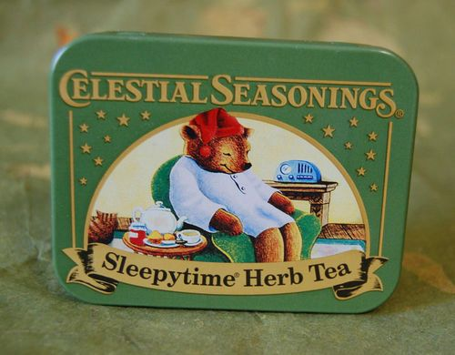 Celestial Seasonings Tea Collectible Tin