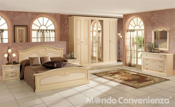 Camere da letto - Camere complete - Clivia - Mondo Convenienza ...