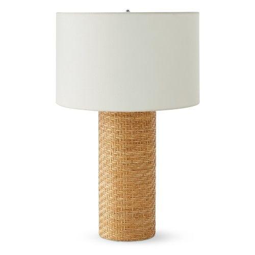 Rattan Table Lamp Williams Sonoma In 2021 Classic Table Lamp Table Lamp Luxury Table Lamps