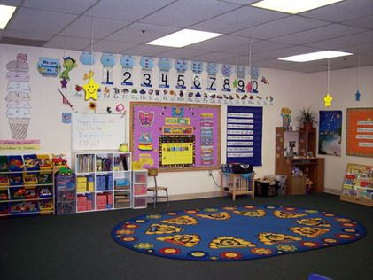 Preschool Classroom Design Ideas With Colorful Decoration And Safe