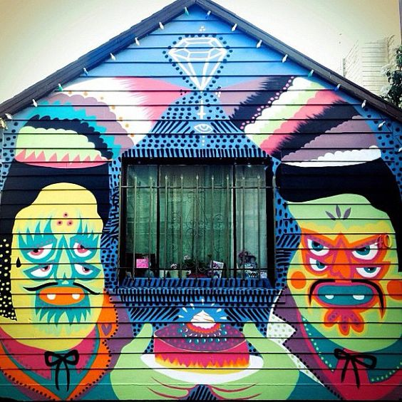 @instagrafite | Work by #Kashink • photo by @anthonyaye • San Francisco | Webstagram - the best Instagram viewer