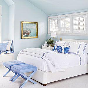 The New Classic Beach House | Periwinkle Palette | CoastalLiving.com
