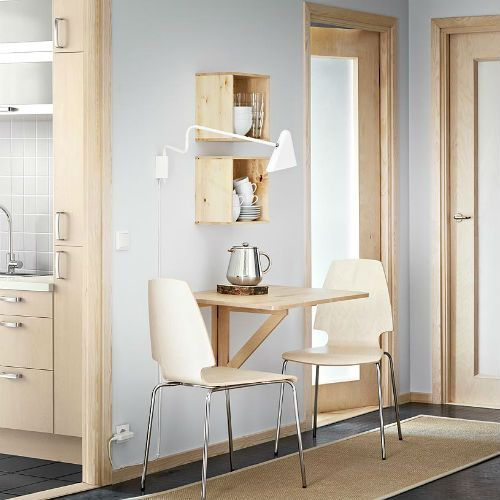 Mesa abatible Norbo para pequeños espacios