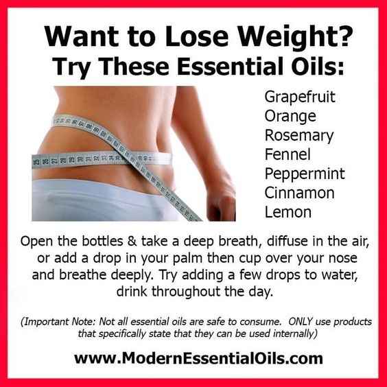 spearmint essential oil for weight loss