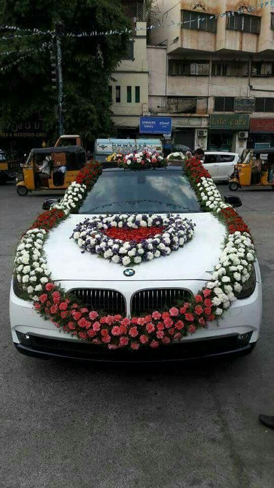 Pin By Rajeshwar Jain On Weddings Wedding Car Decorations