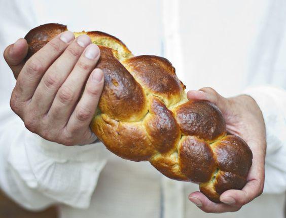 Tsoureki - [Pan dulce griego de pascua]
