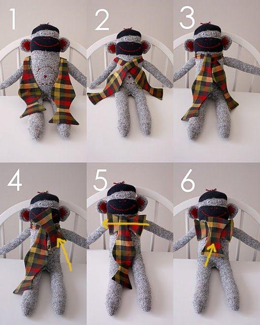 Make bow ties - tie 'em, too!
