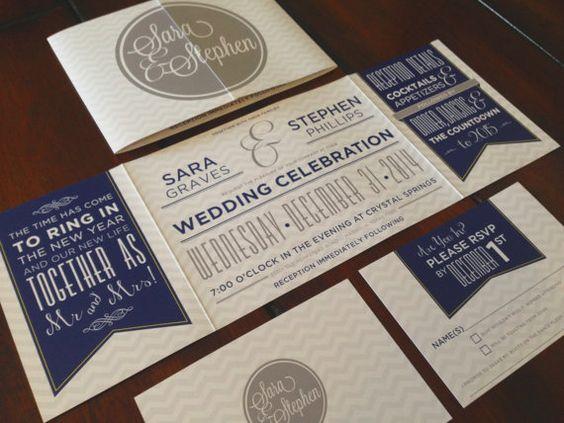 Custom Fold Wedding Invitation by TheDesignBrewery on Etsy, $2.95