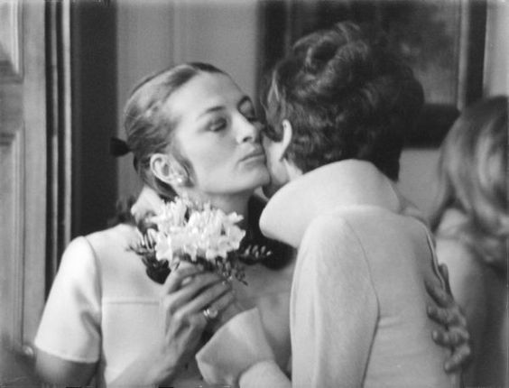Capucine and Audrey Hepburn