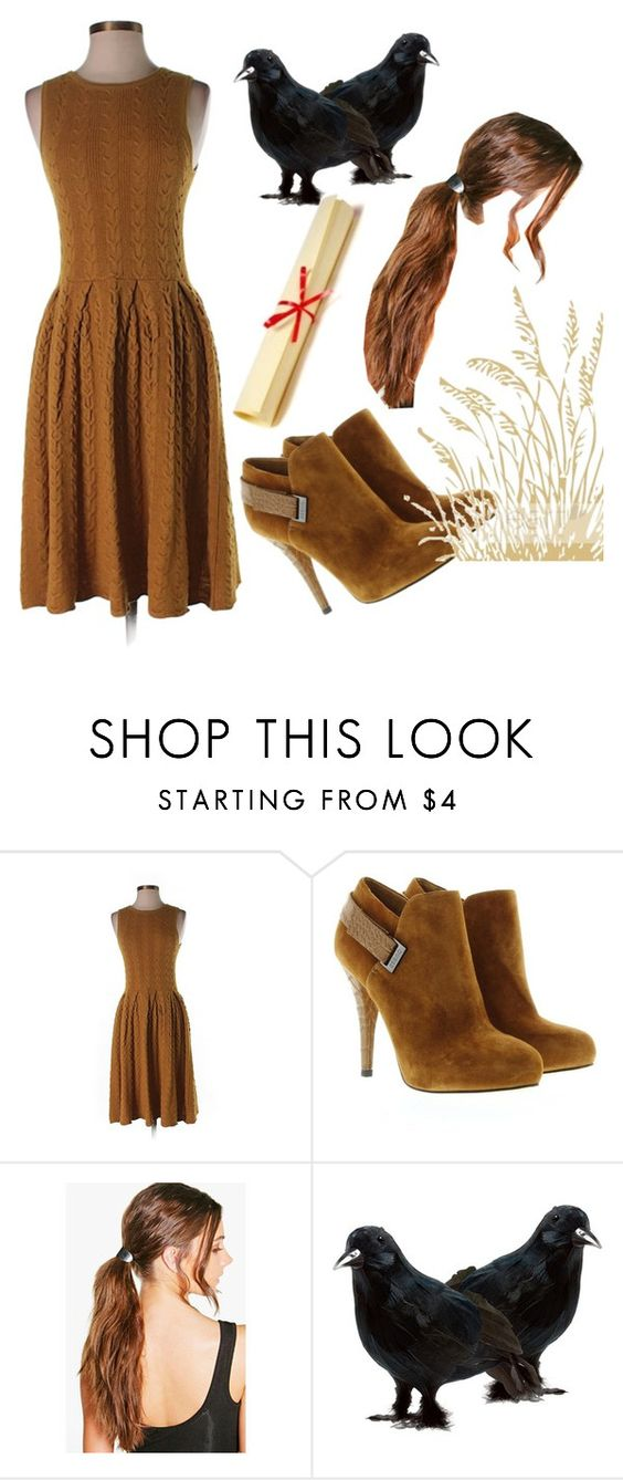 """""""Scarecrow"""" by oliviasimoneparks ❤ liked on Polyvore featuring Far Away from Close, GUESS and Boohoo"""