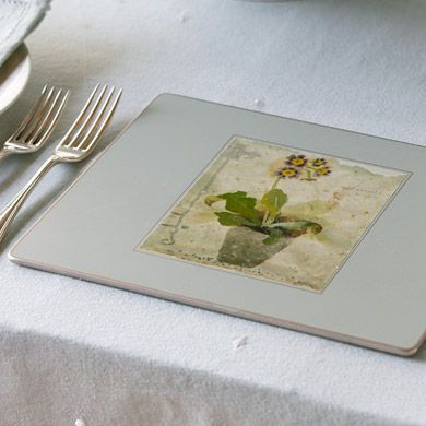 Placemat - Flowers (Set of 6)