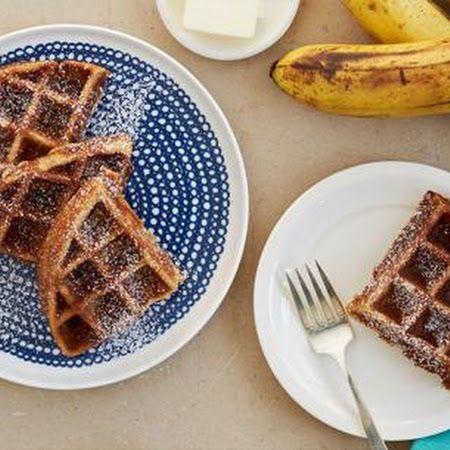 Waffled Banana Bread