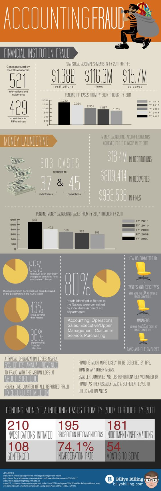 Accounting Fraud [INFOGRAPHIC] #accounting #fraud