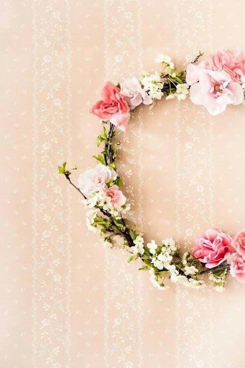 Coroa de flores...