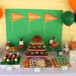 All star sports themed birthday party