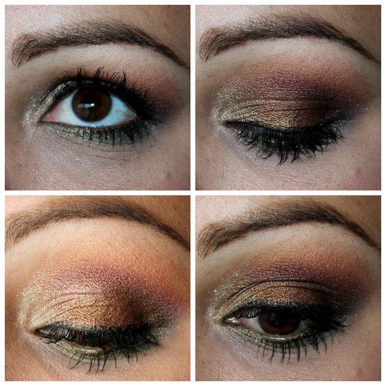 women pink fashion: Fall Eye Look {Feat: Urban Decay Ammo Palette} Makeup Monday