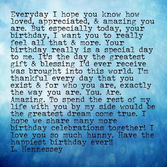 Love You, Happy Birthday Messages And Love Quotes For Him