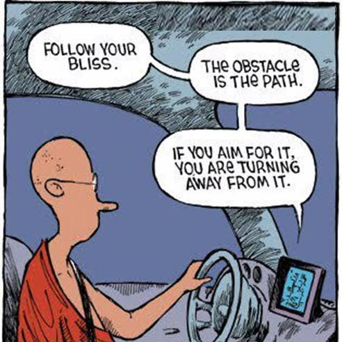Misleading yogi sat-nav #yoga #funny: