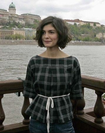 Audrey Tautou...love her hair