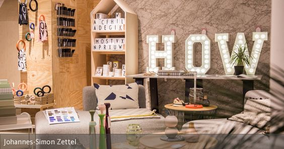 """Der Concept-Store """"How We Live"""" bietet skandinavisches Design und…"""