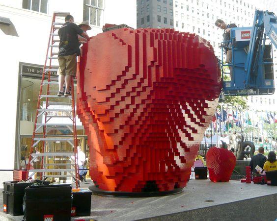 Big Lego apple