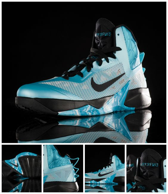 nike argent laser shox - Elevate your game with the Nike Zoom Hyperfuse 2013. #Basketball ...