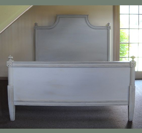 Gustavian Imperial Style Bed