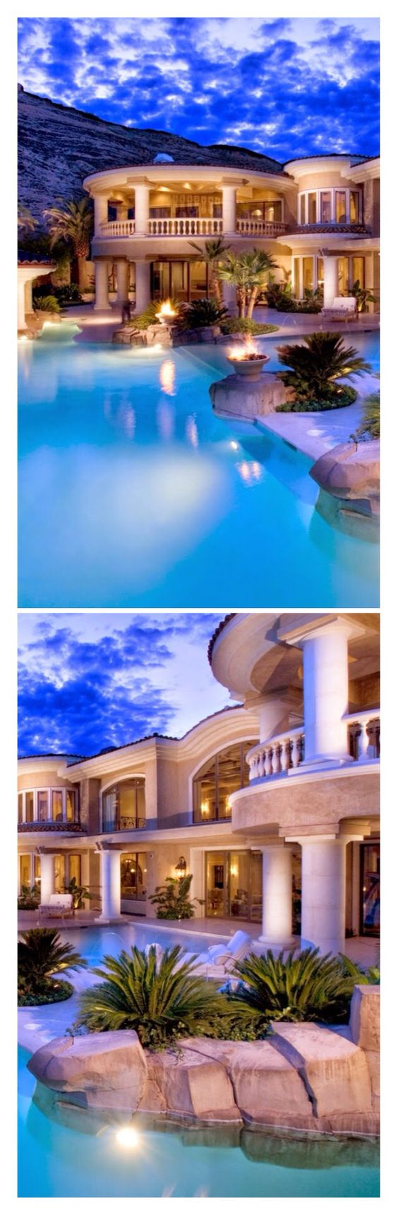 #Luxury Homes with #Pools and amazing views in the Hollywood Hills@Luxurydotcom via Houzz-