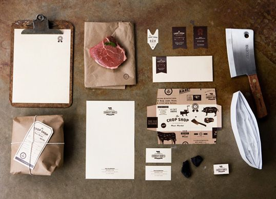 The Chop Shop identity system is fabulous. Designed by PTARMAK. http://ptarmak.com/