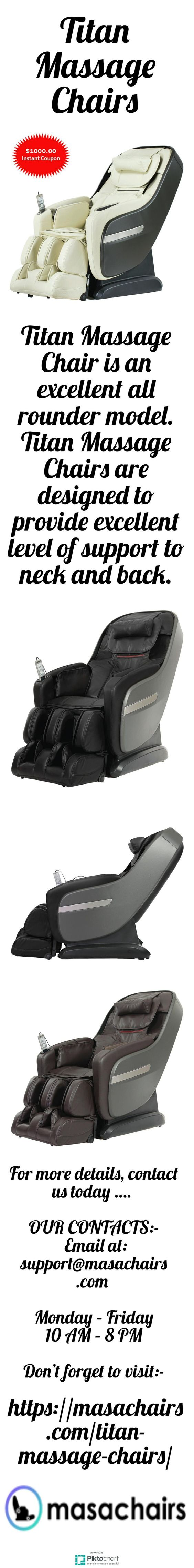 Titan Massage Chair is an excellent all rounder model Titan