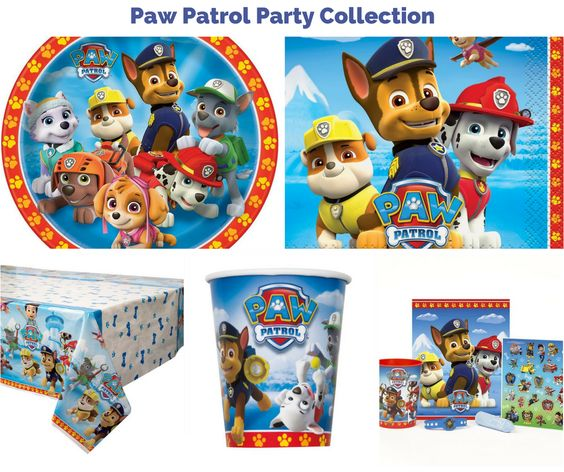 Paw Patrol Party Collection