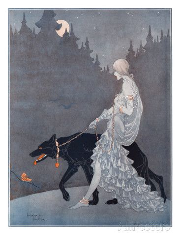 Queen of the Night by Marjorie Miller Giclee Print at AllPosters.com