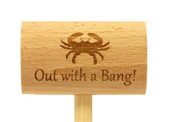 Bachelor Or Bachelorette Crab Mallet