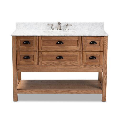 Mcgruder 48 Single Bathroom Vanity With Images Single