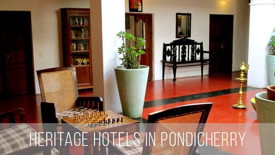 Heritage Hotels in Pondicherry  List of Heritage Hotels in Pondihcerry for your cool stay.  Read More: http://bit.ly/2dEVodB  #Pondicherry #Puducherry #Pondy #Pondytourism