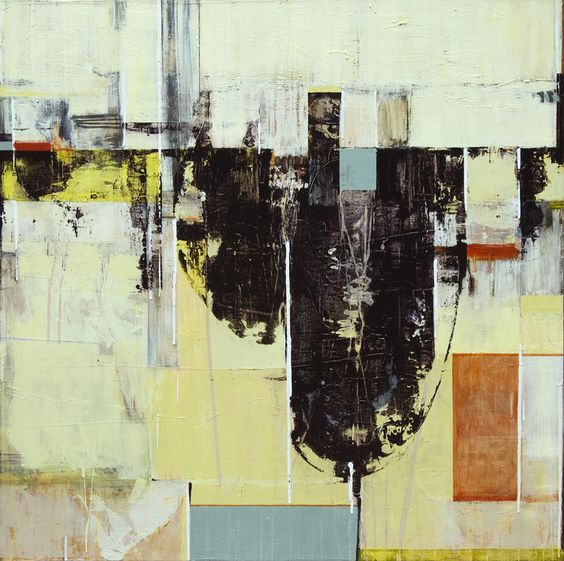 """Saatchi Online Artist: Jane Martin; Oil, 2013, Painting """"THE ASKING PLACE IV"""""""