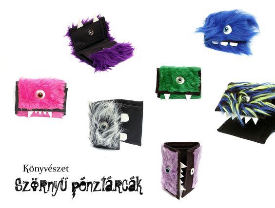 monster wallets by Könyvészet