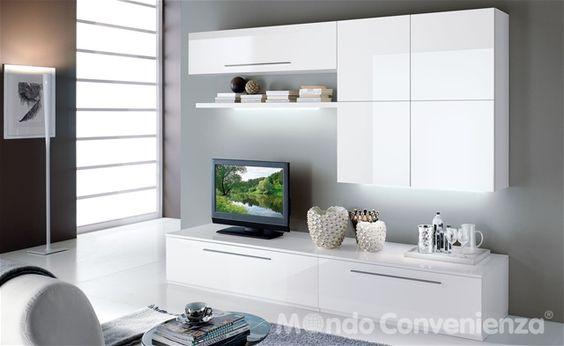 274 - Soggiorni - Moderno - Mondo Convenienza  Arredando ...