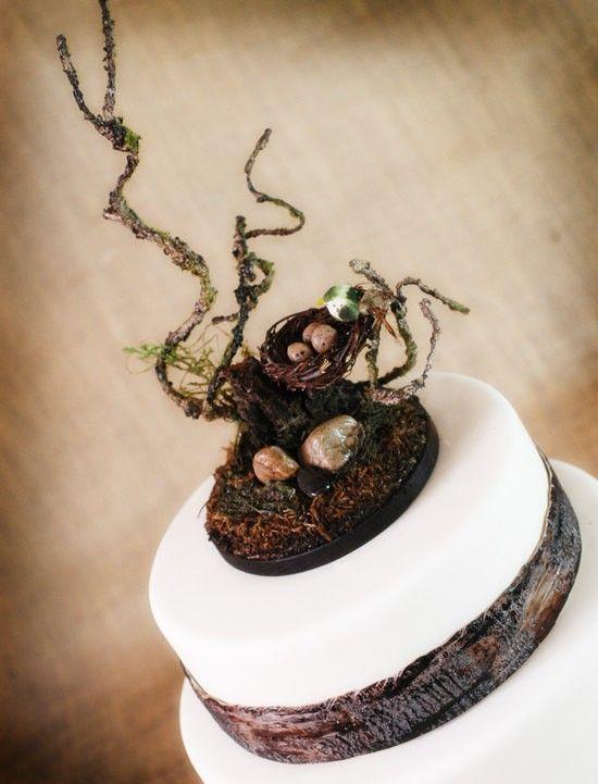 Tree Slice Wooden Wedding Cake Stands