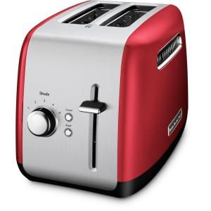 Nostalgia Retro Series 4 Slice 3 In 1 Breakfast Station Toaster Oven In Red Bset300retrored The Home Depot In 2021 Kitchenaid Toaster Toaster Red Toaster
