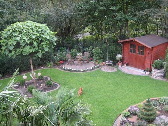 Stadtlustgarten Unser Garten Garten Pinterest Gärten - reihenhausgarten vorher nachher