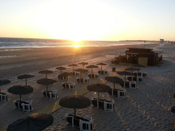Atardecer Chiringuito Playa