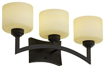 """Asian Izoro Collection ENERGY STAR 22"""" Wide Bathroom Light - Modern - Originals And Limited Editions - Lamps Plus"""