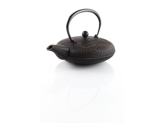 Teavana imperial dragon ii cast iron 20oz teapot dragon irons and teas - Imperial dragon cast iron teapot ...