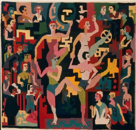Ernst Ludwig Kirchner Tanz, ca 1922 Museum für Gestaltung Zürich, Applied Art Collection Photo: Marlen Perez, Museum für Gestaltung, © ZHdK