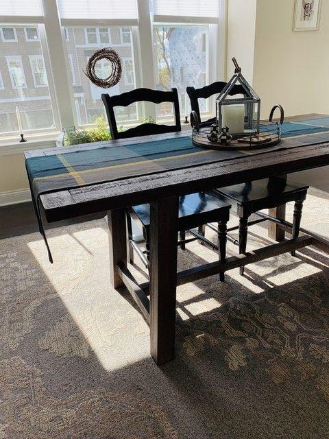 Bartol Reclaimed Wood Dining Table Dining Table Extendable Dining Table Reclaimed Pine Dining Table