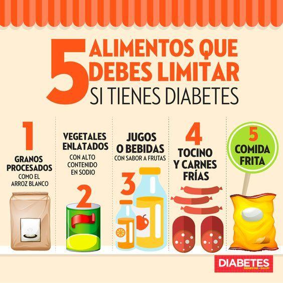 frutas y verduras que no deben comer los diabeticos